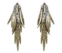 Ohrhänger Global Glam aus Metall mit Glassteinen