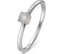 Damenring 13 Diamant