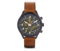 Chronograph Timex Fly-back Chronograph mit Intelligent Quartz Technologie T2P381