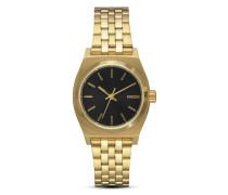 Quarzuhr Small Time Teller A399-513 Gold / Black