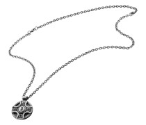 Halskette Medallion aus Edelstahl