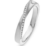 Damenring 22 Diamant