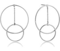 Ohrhänger Modern Front hoop Earrings 925er Silber