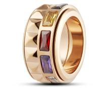 Ring Maya aus Edelstahl-60