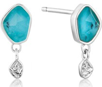 Armband Tourquois Drop Stud Earrings 925er Silber