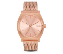 Quarzuhr Time Teller Milanese A1187-897-00 All Rose Gold
