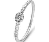 Damenring 17 Diamant