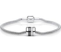 Armband Edelstahl/Keramik Zirkon