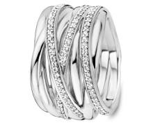 Ring aus 925 Sterling Silber mit Zirkonia-50