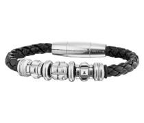 Armband Grinder aus Leder & Edelstahl