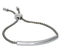 Armband Logo aus Stoff & Edelstahl