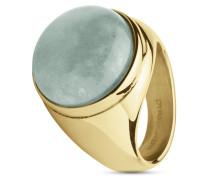 Ring Castor aus Edelstahl mit Amazonit-51