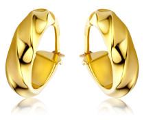 Creolen aus 375 Gold | Stärke 4,5 mm