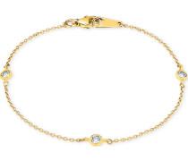 Armband 375er Gelbgold