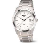 Boccia Herren-Uhren Analog Quarz