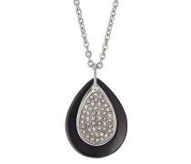 Halskette aus Edelstahl & Keramik