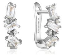 Ohrhänger Glow Threader Errings 925er Silber Zirkonia