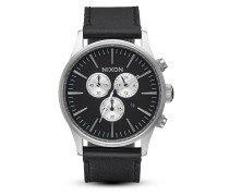 Chronograph Sentry Leather A405-000-00 Black
