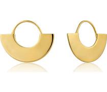 Ohrhänger Geometrie Fan Hoop Earring 925er Silber