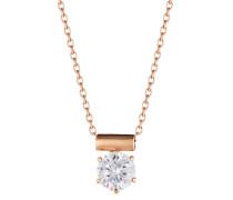 Halskette 925 Sterling Silber-Zirkonia