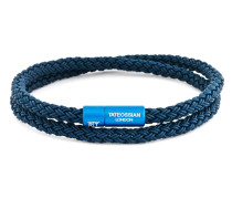 Armband Rubber Cable aus Kautschuk & Aluminium-390 mm