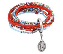 Armband Petit Glamour d´Afrique aus Metall mit Glassteinen