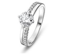Ring aus 333 Weißgold