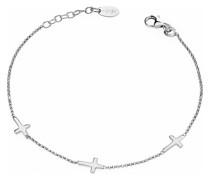 D-Armband 925er Silber 58 Zirkonia