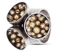 Ring Orchid Hybrid mit Swarovski-Steinen
