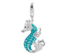 Charm Seepferd 925 Sterling Silber