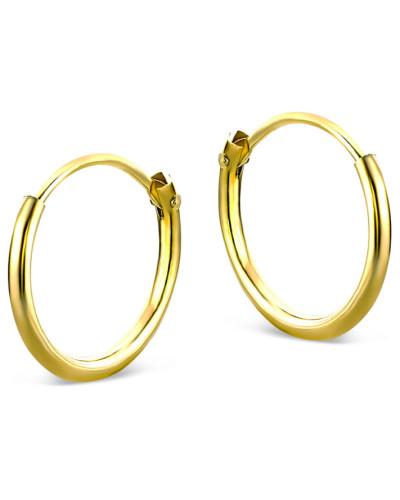 Creolen aus 333 Gold | Durchmesser 11mm | Stärke 1,3mm