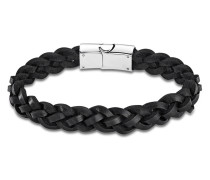 Armband Men Basic aus Leder & Edelstahl