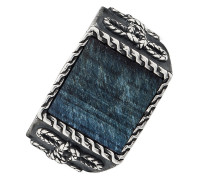 Ring aus Sterling Silber mit Tigerauge