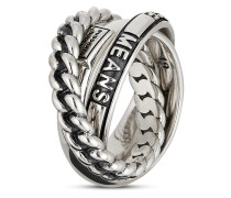 Ring Universe aus 925 Sterling Silber-53