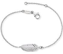 Armband 925er Silber 5 Zirkonia