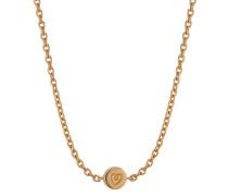 Halskette aus vergoldetem 925 Sterling Silber
