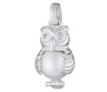 Kettenanhänger Owl 925 Sterling Silber