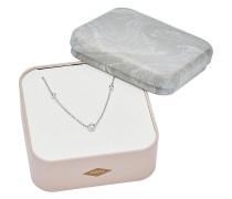 Halskette aus Sterling Silber mit 3 Zirkonia