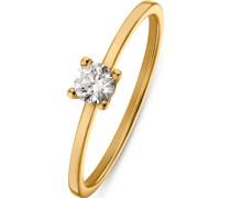 Damenring aus Weißgold