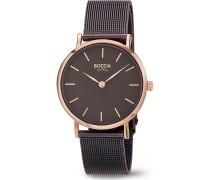 Boccia Damen-Uhren Analog Quarz