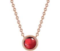 Halskette aus Sterling Silber mit Granat