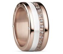 Ring Adak aus Edelstahl & Keramik mit Zirkonia-63