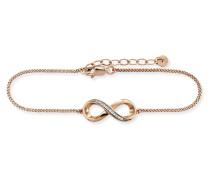 Armband Sensitive Dancer aus rosévergoldetem 925 Sterling Silber mit Topasen