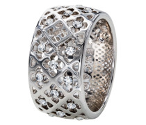 Ring mit Swarovski-Steinen-56
