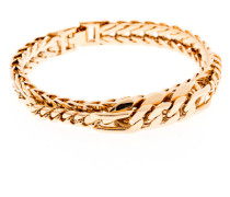 Armband Rich Chain Messing vergoldet