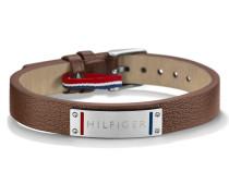 Armband aus Leder & Metall