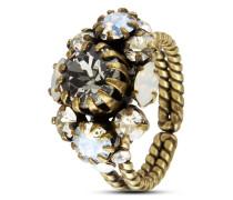 Ring Fiancee mit Swarovski-Steinen