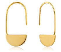 Ohrhänger Geometry Drop Earrings 925er Silber
