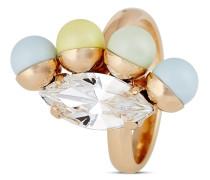 Ring Turkish Delight vergoldet mit Swarovski-Perlen