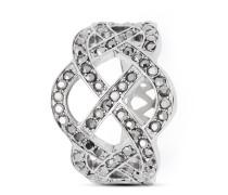 Ring Fashion Gordiano aus Edelstahl mit Hämatiten-56